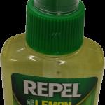 bottle of Repel spray with lemon eucalyptus